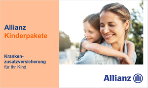 Allianz Kinderpakete